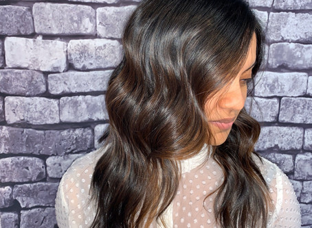 Subtle Balayage for a Mellow Look