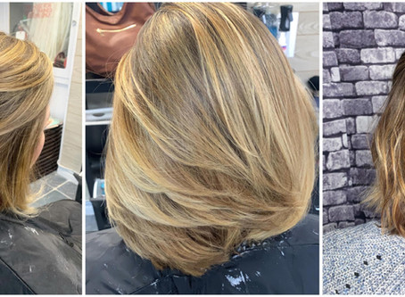Cut, color styled Changed all her lookhair by Tamay#colourhair #refreshcolour #stylist #hairstylist