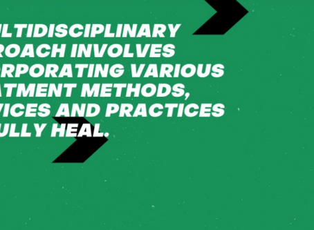 Are you taking a multidisciplinary approach?