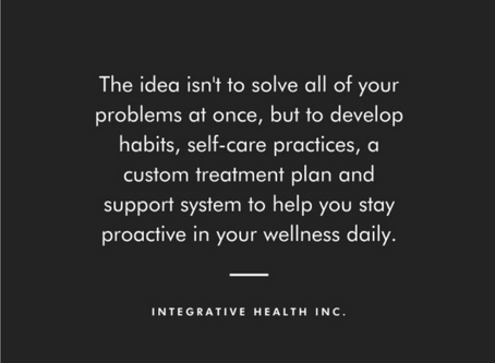 Well-being is not just a one-stop process.