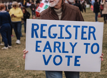 Did You Forget to Register to Vote on National Register to Vote Day?