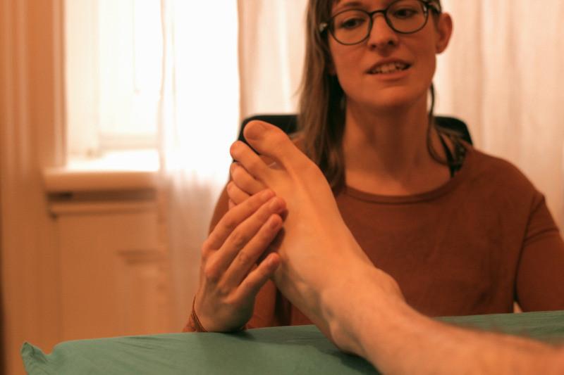 Sissi Fußanalyse Grinberg Methode