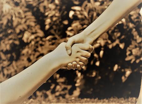 Menschen helfen - mit Gelassenheit und voller Kraft
