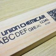 木材に印刷