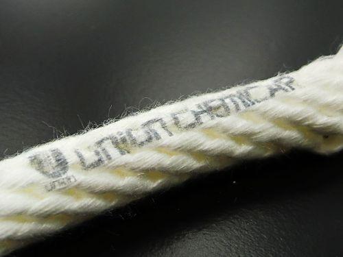 ロープに印刷