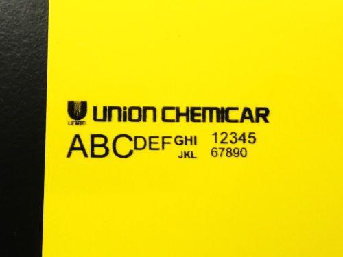 硬質塩化ビニル板に印刷