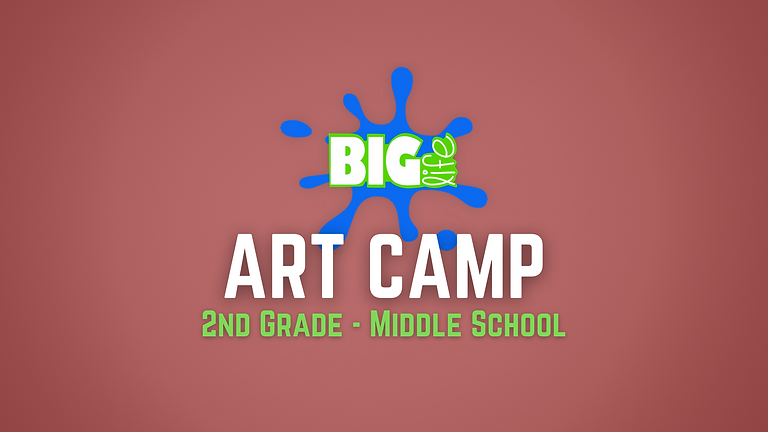 Art Camp (2nd - Middle School)