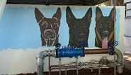 police dog mural 9