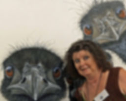 #FionaGroom  #australianartist #wildlifeartist