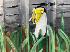 #bird mural yandina