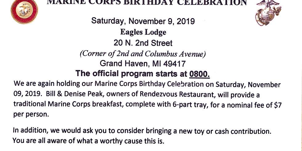 Marine Corps Birthday Celebration