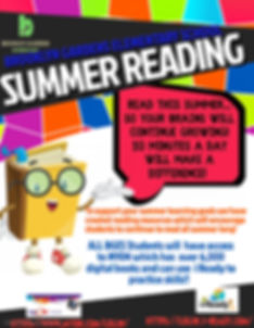 BGES SUMMER READING - Made with PosterMy