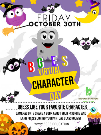 BGES Character Day - Made with PosterMyW