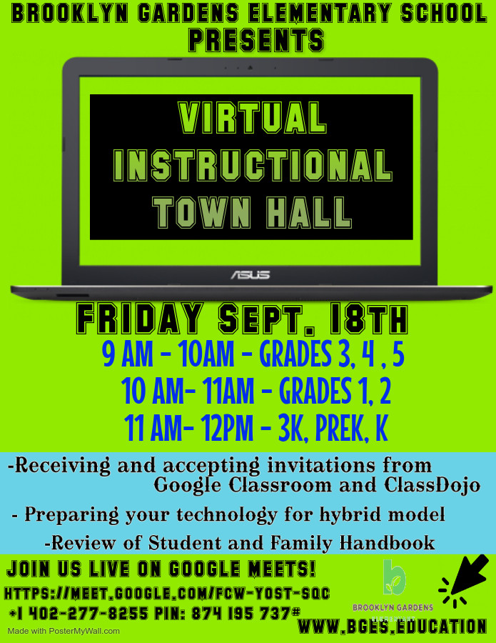 BGES Virtual Instructional Orien