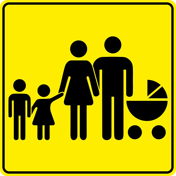 new_road_sign_Parking_for_families_with_