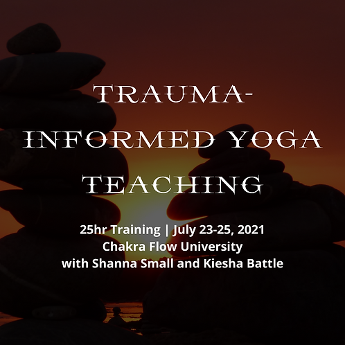 Trauma-Informed Yoga Teaching Drive-In Registration