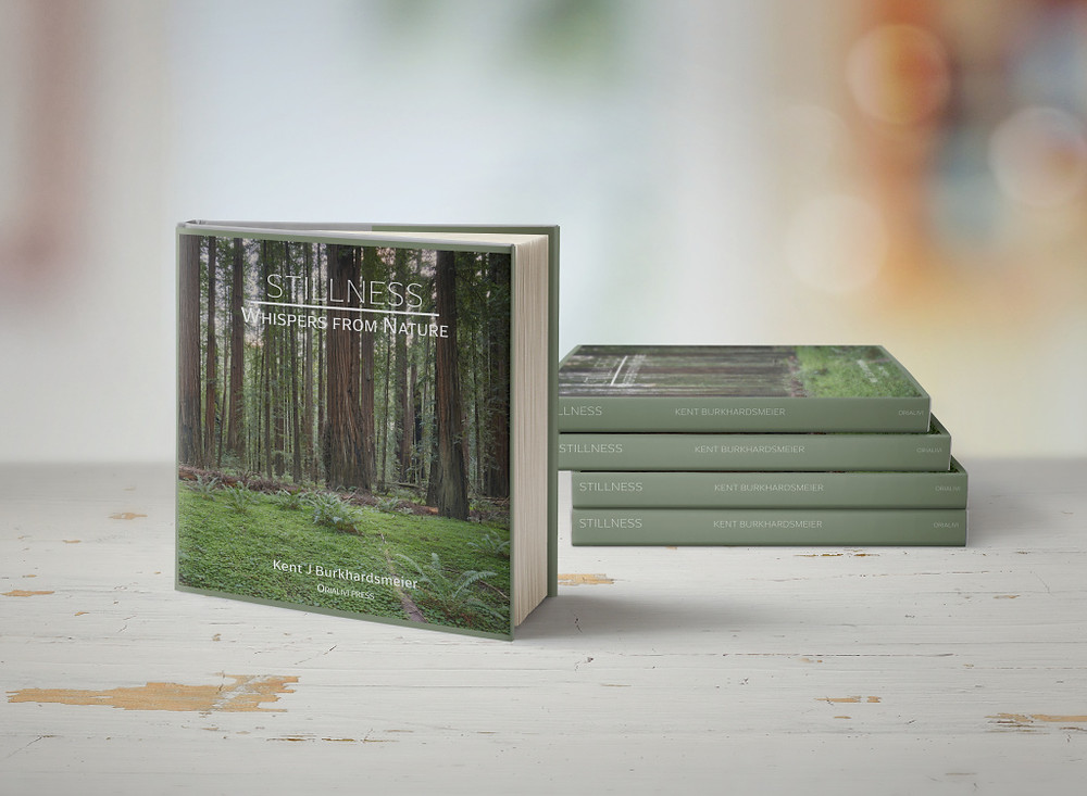 The gorgeous coffee table book combines original poems with original fine art nature photography.