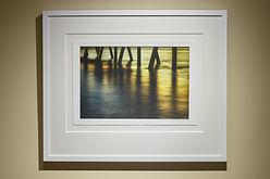 framed float mount wall art