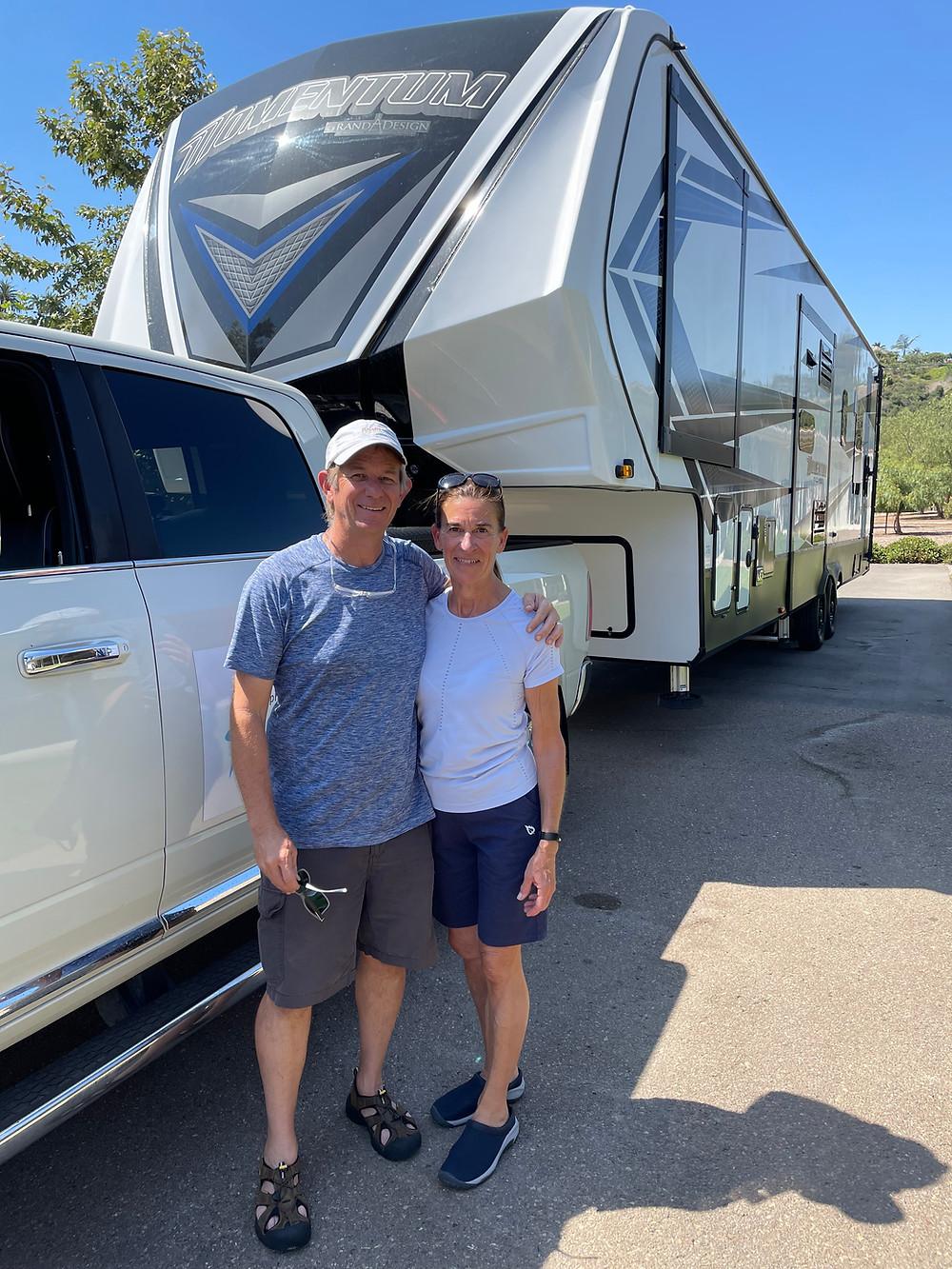 Kent Burkhardsmeier and wife begin RV life