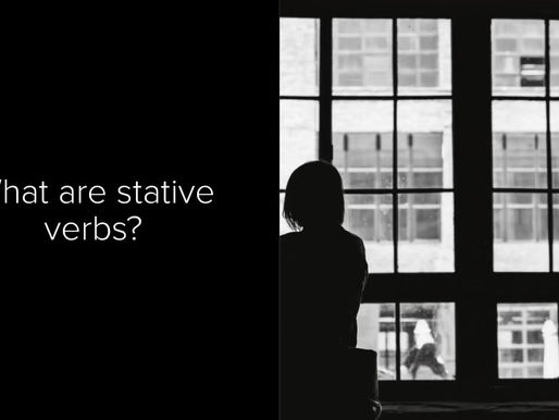 Stative Verbs and the Stative Passive
