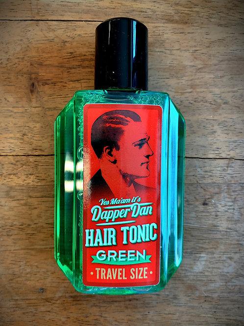 "DAPPER DAN Hair Tonic GREEN 100 ml ""TRAVEL SIZE"""