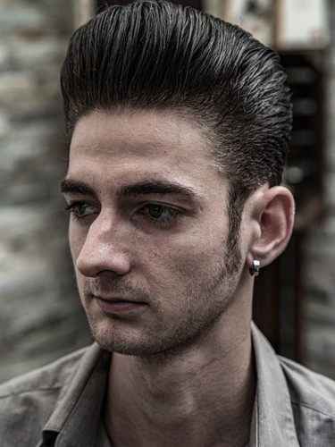 Long-Trim Pompadour
