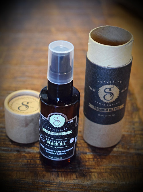 Suavecito Beard Oil Sandalwood