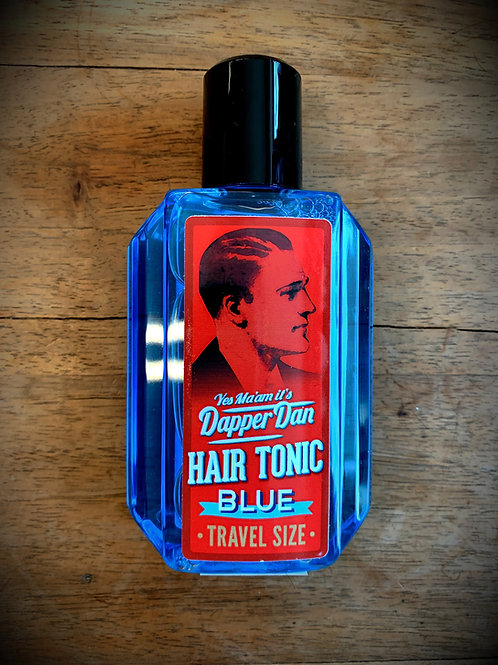 "DAPPER DAN Hair Tonic BLUE 100 ml ""TRAVEL SIZE"""