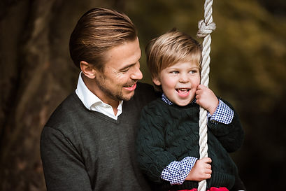 Sannaz Photography gezin vader en zoon s