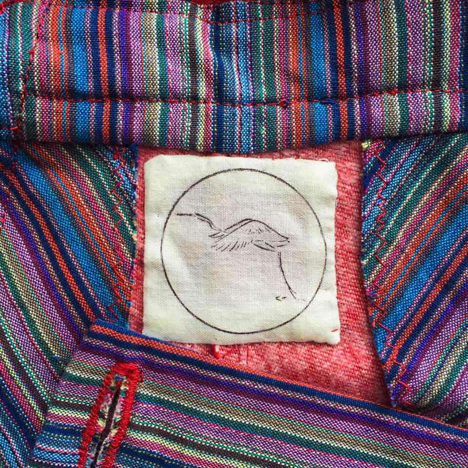 Jane's Dungarees Heron Logo