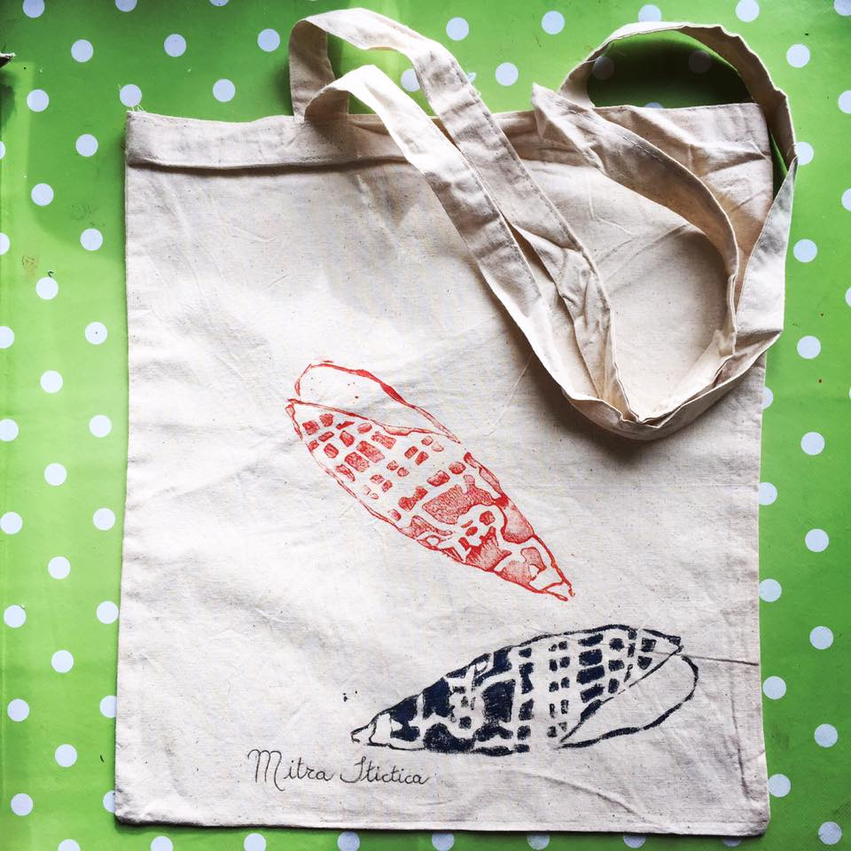 Lino Cut Eco Bag