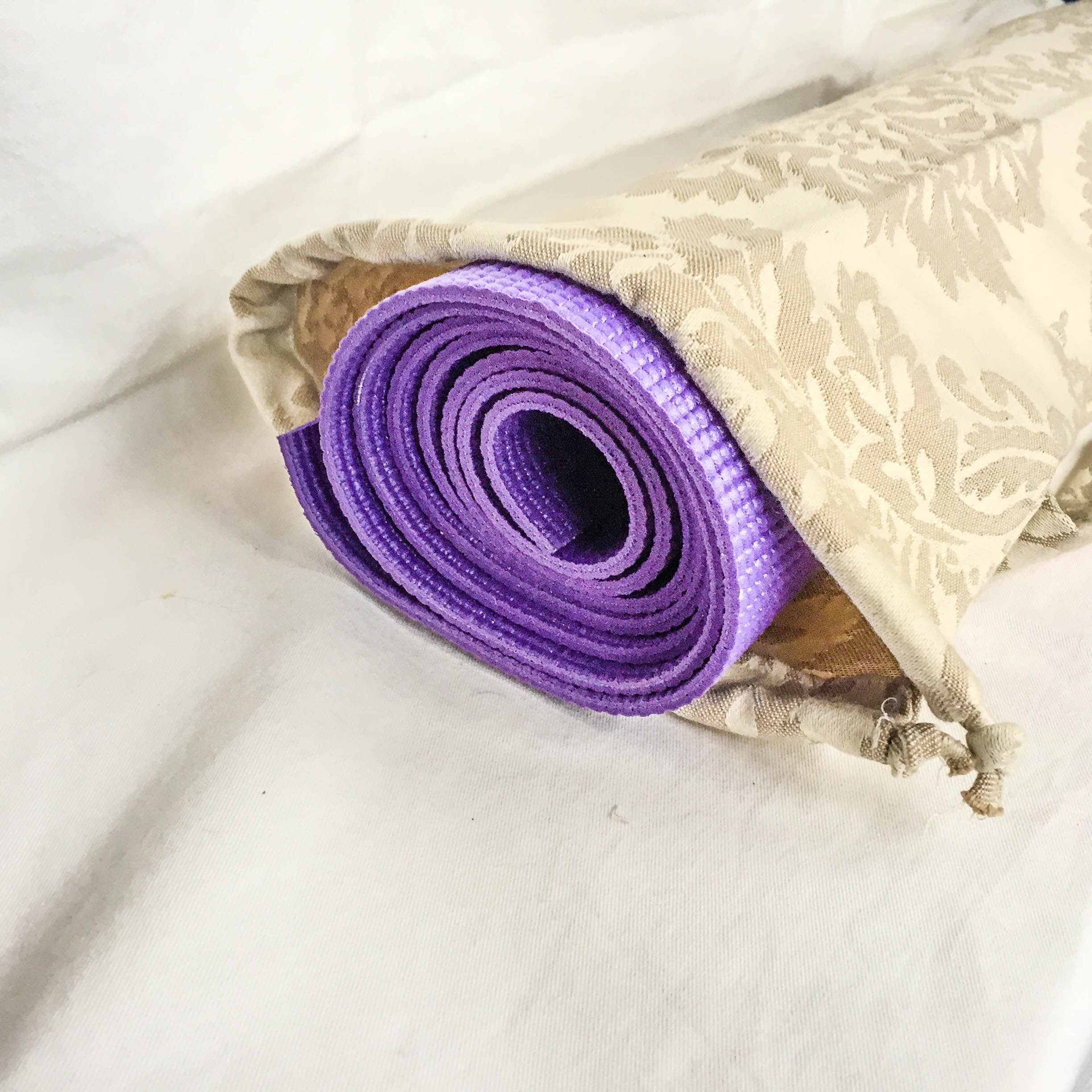 Cotton Yoga Mat Carry Bag