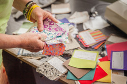Organic Fair Trade Fabric Samples