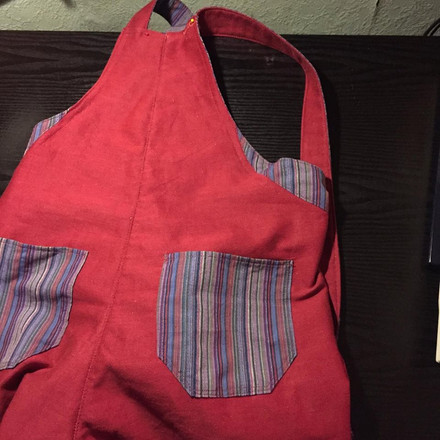 Jane's Dungarees Back
