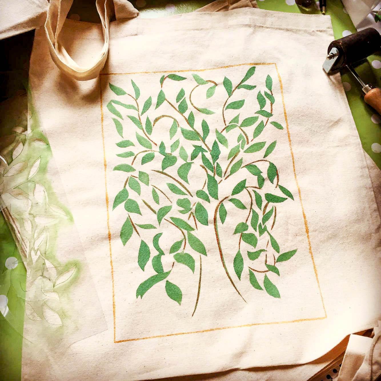 Stencil Eco Bag