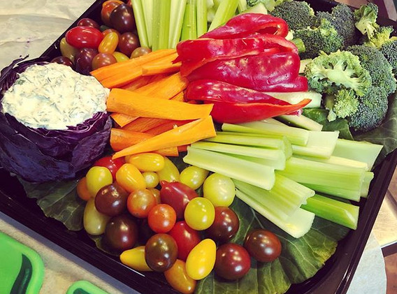 What does YOUR veggie platter look like_