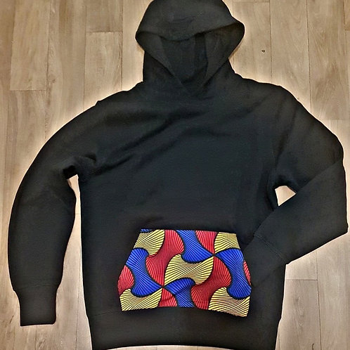 HOODIE BLACK WAX TOUCH