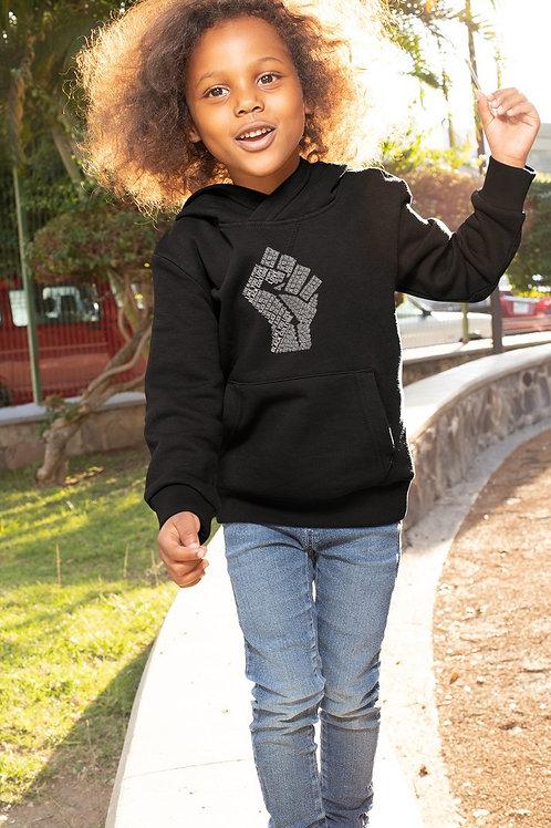 HOODIE Enfant-LOVE BLACK PEOPLE
