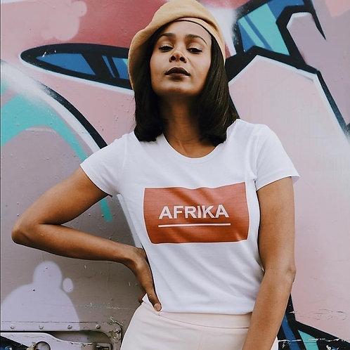 Tshirt - AFRIKA RED