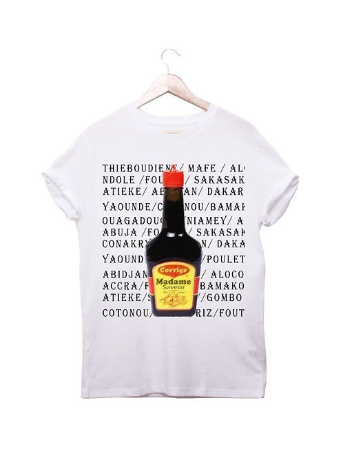 "T-shirt ""Corrige Madame - ENFANT - (Arome Maggie)"""