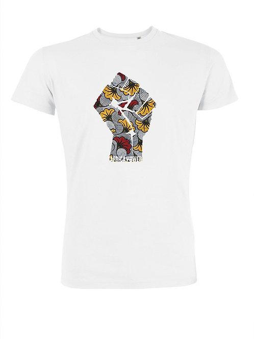 """T-shirt Homme """"Africa Power Fleur"""""""