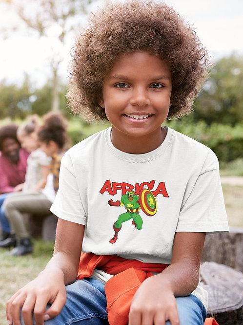 Tshirt Enfant - CAPTAIN AFRICA