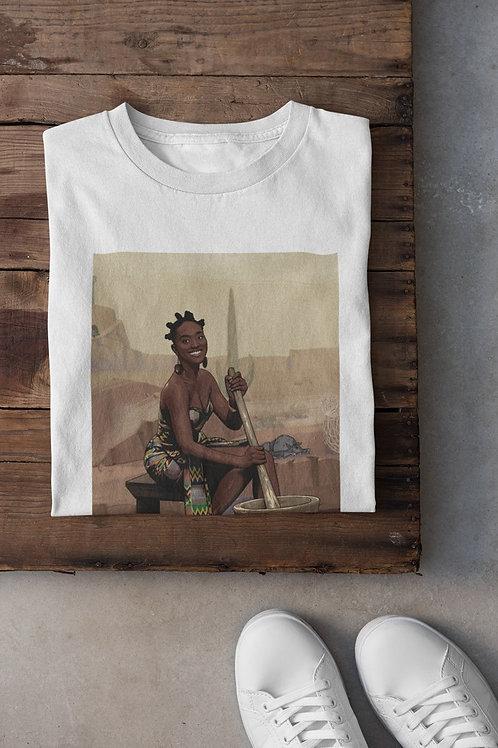 "T-shirt Unisexe ""Brown Skin Girl"""