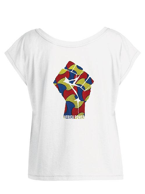 Tshirt Femme Oversize - AFRICA POWER COLORS