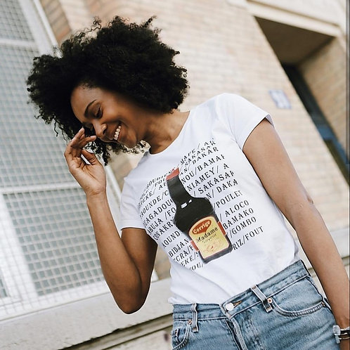 "T-shirt ""Corrige Madame (Arome Maggie)"""