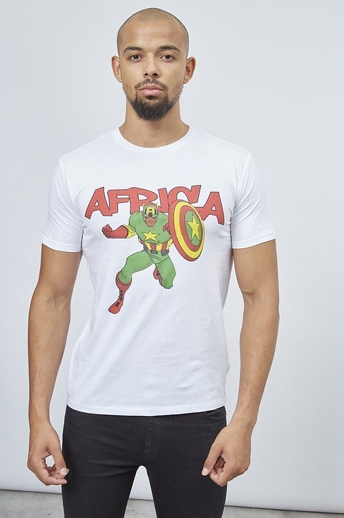 "T-shirt Homme ""CAPTAIN AFRICA"""