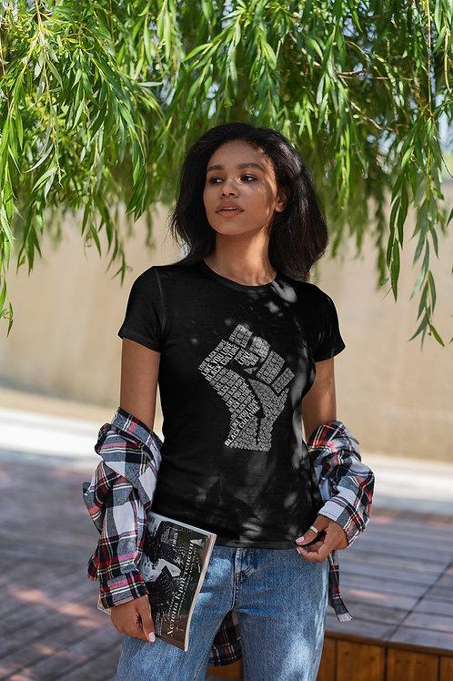 "Tshirt Femme - ""LOVE BLACK PEOPLE LIKE YOU LOVE BLACK CULTURE"""