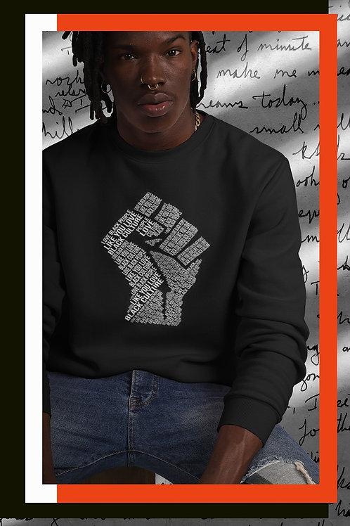 "Crewneck -Homme ""Love Black People"""