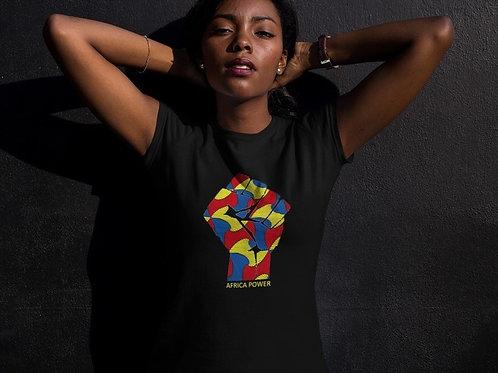 Tshirt Femme - Africa Power Color