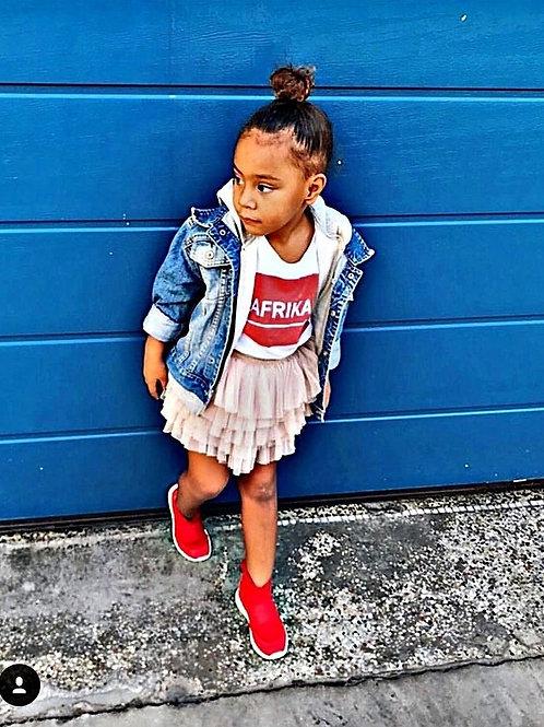 Tshirt Enfant - AFRIKA RED